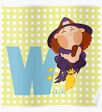 w for witch Poster