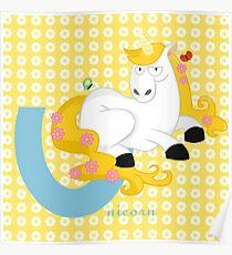 u for unicorn Poster