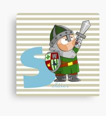 s for soldier Canvas Print