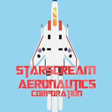 Starscream Aeronautics by Nights-Of-Stars