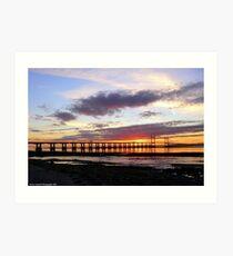 Second Sunset Crossing Art Print