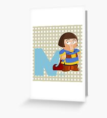 n for noble Greeting Card