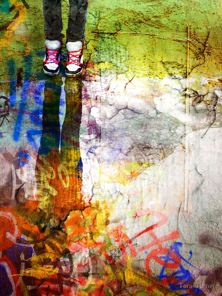She Lives in a Box of Paint by Tara  Turner