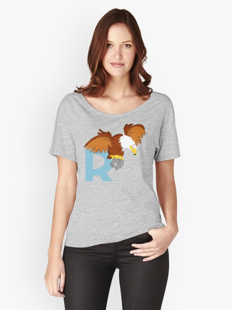 r for roc Women's Relaxed Fit T-Shirt Front