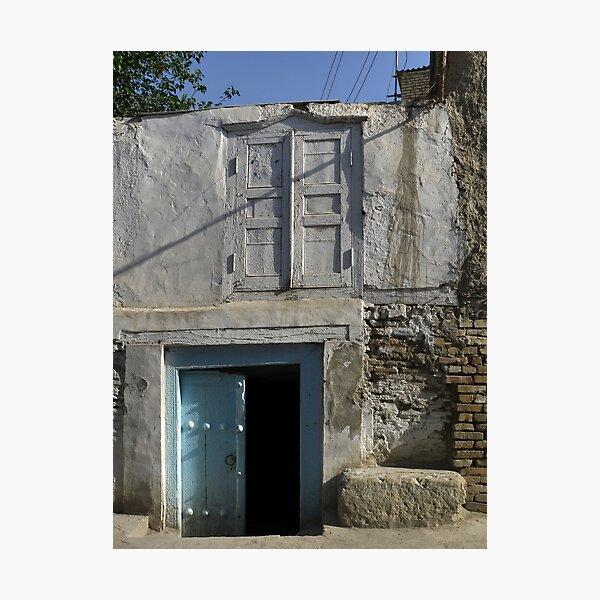 Double double doors Photographic Print