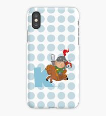 k for knight iPhone Case