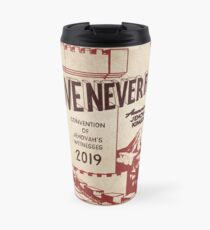 LOVE NEVER FAILS (VINTAGE WT) Travel Mug