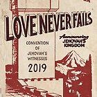 Die Liebe versagt nie (VINTAGE WT) von JW ARTS & CRAFTS