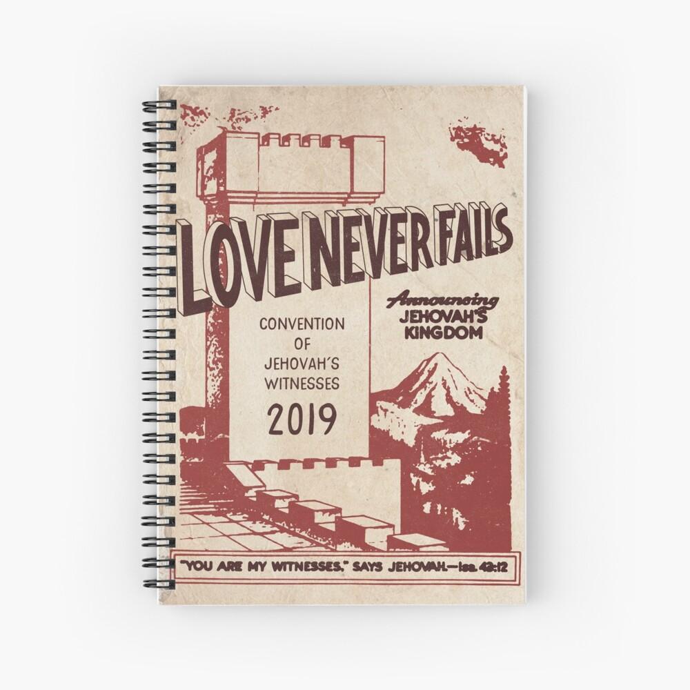El amor nunca falla (VINTAGE WT) Cuaderno de espiral