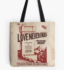 Die Liebe versagt nie (VINTAGE WT) Tote Bag