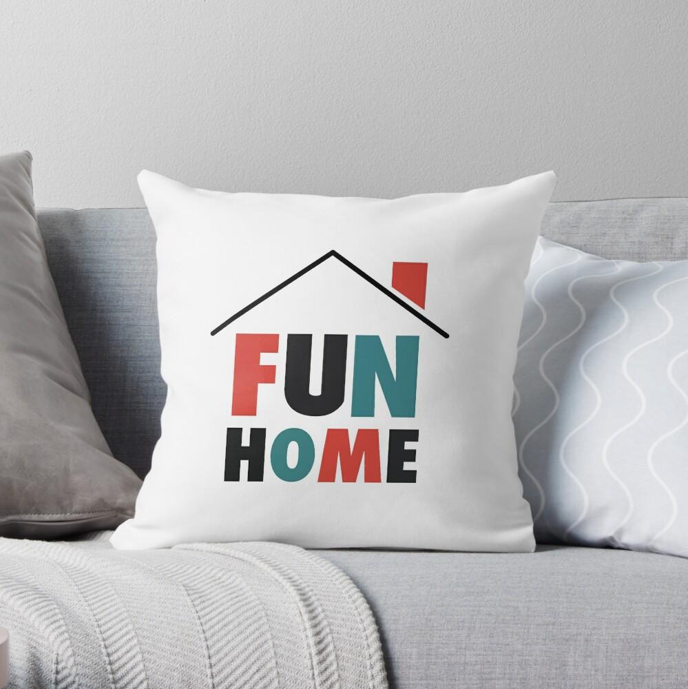 Fun Home: Logo Cojín