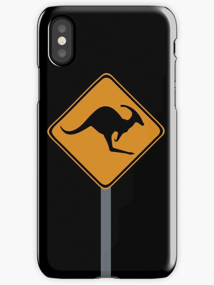 Kangaroo Dinosaur sign by jezkemp