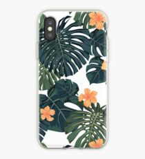 Tropical blossom iPhone Case