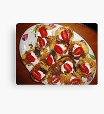 Food New Years Eve Canvas Print