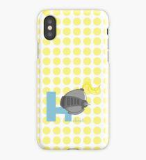 h for helmet iPhone Case/Skin