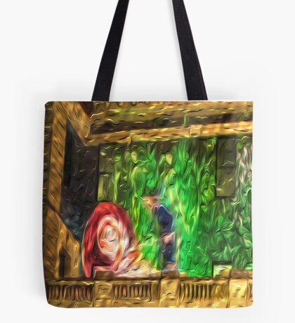 Snail in the Clocktower Tote Bag