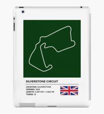 Silverstone Circuit - v2 iPad Case/Skin
