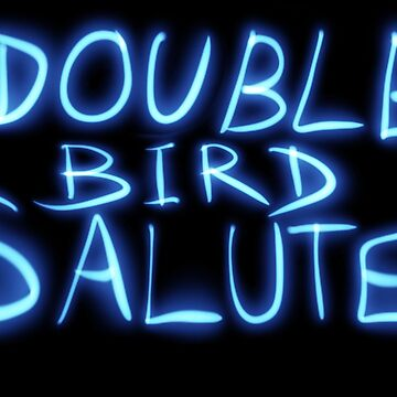 Double Bird Salute  by Its-Popcoin
