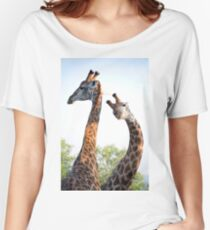 Walking with Giraffes - South Africa Women's Relaxed Fit T-Shirt