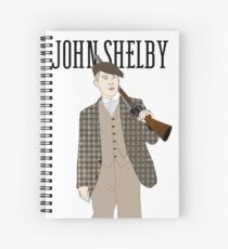 Cuaderno de espiral John Shelby ilustración
