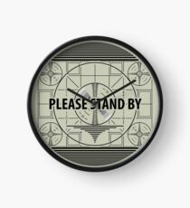 Please stand by Clock