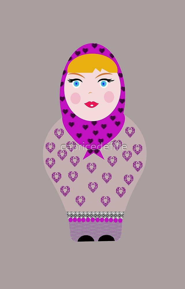 Russian doll by capricedefille