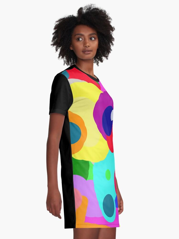 Alternate view of Movie Lights Graphic T-Shirt Dress