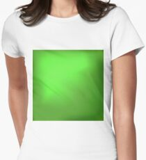 Abstract Spring Green Background Women's Fitted T-Shirt