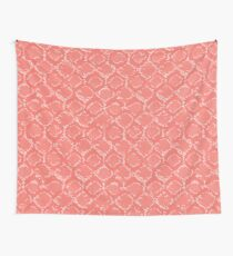 Snake skin   Living Coral  Wall Tapestry