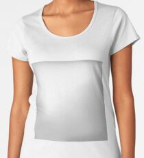 Abstract Light Grey Background Women's Premium T-Shirt