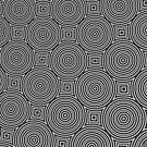 Monochrome Pattern 003 by Rupert Russell