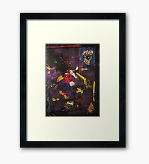 A trip inside your imagination Framed Print