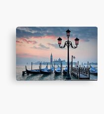 Venice Dawn Canvas Print