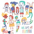 We are all Human by Aurora Cacciapuoti