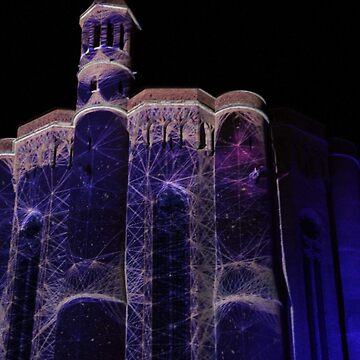 Mapping Albi Cathedral by DiesIraeKaa