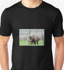 Puppies playing Unisex T-Shirt