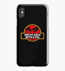Jurassic Betrayal iPhone Case