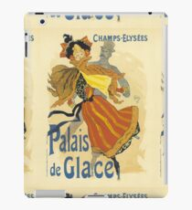 Palais De Glace Vintage French Advertising iPad Case/Skin
