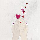 Fluttering Hearts by Sybille Sterk