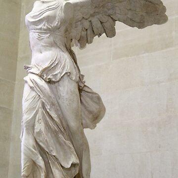 Winged Nike of Samothrace Louvre by DReneeWilson