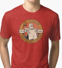 Abe Froman - The Sausage King of Chicago Tri-blend T-Shirt