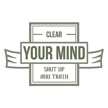 Clear your MIND by Naumovski