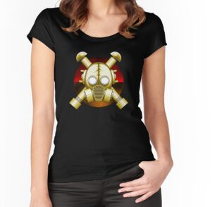 'Gasmask Apocalypse' T-Shirt by Rustyoldtown