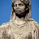 This regal lady stands in the Forum in Rome by Virginia Maguire