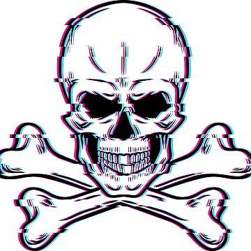 Skull glitch by Melcu
