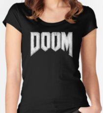 Doom Grunge Women's Fitted Scoop T-Shirt