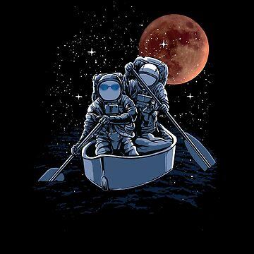 Fantasy-Astronauts in Rowing Boat by broadmeadow