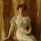 "John Collier ""Portrait of The Hon. Mrs Harold Ritchie"" by Alexandra Dahl"
