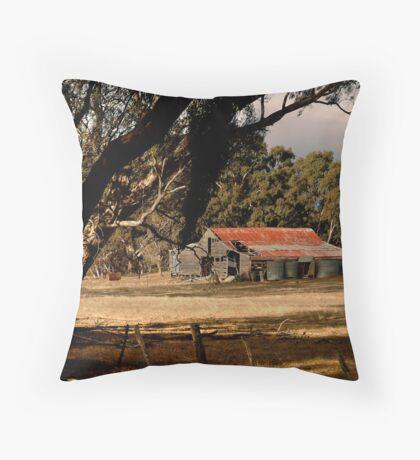 Old Shedding Lexton Victoria Throw Pillow