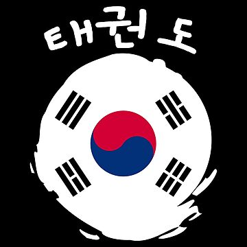 Martial Arts Taekwondo 태권도 Korea Flag - Gift Idea by vicoli-shirts